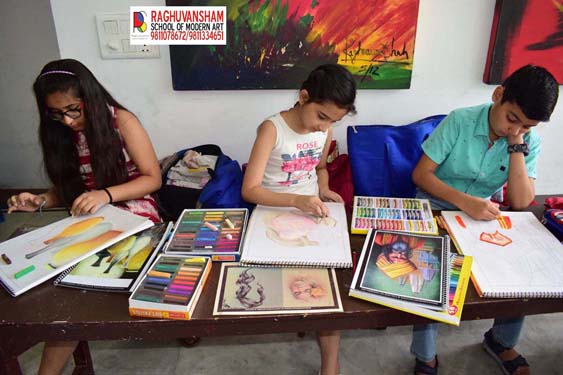 art coaching by raghuvansham in kirti nagar