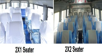 Why need to hire 2X1 Seater Minibus. Tempo, Bus?