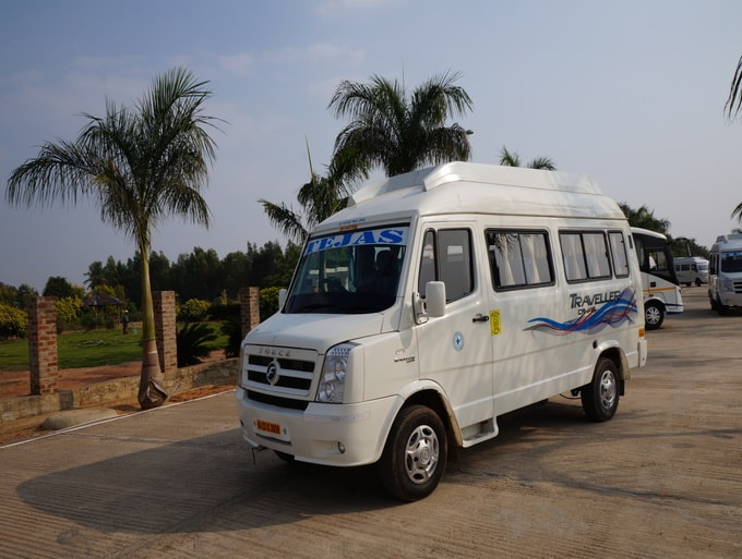 12 seater tempo traveller Rental in Bengaluru, KA