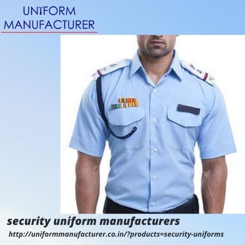 security uniform manufacturers