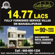 Service villas with dailymonthly assurance
