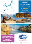 All Inclusive 7 Days Egypt with Nile Cruise @ 6499