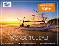 4N5D Bali Package with Water Sports, Rafting & Do