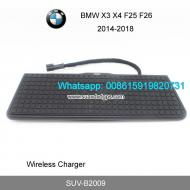 BMW X3 X4 F25 F26 Car QI wireless charger quick ch